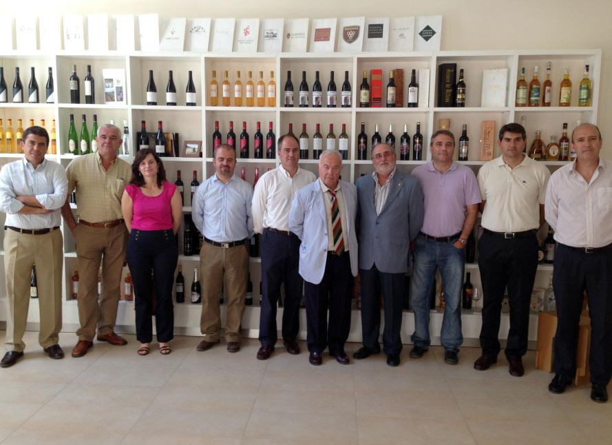 Foto de la constitución del grupo responsable del Congreso Monastrell Alicante