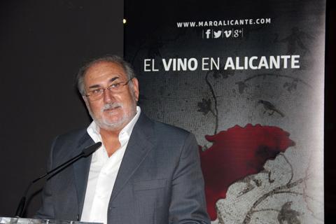 El presidente de la DOP Antonio Navarro