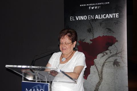 La presidenta de la Diputación de Alicante Luisa Pastor